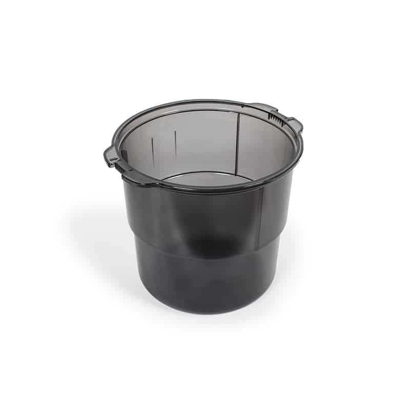BEAM Beam Dirt Bucket, 7 Gal, Translucent