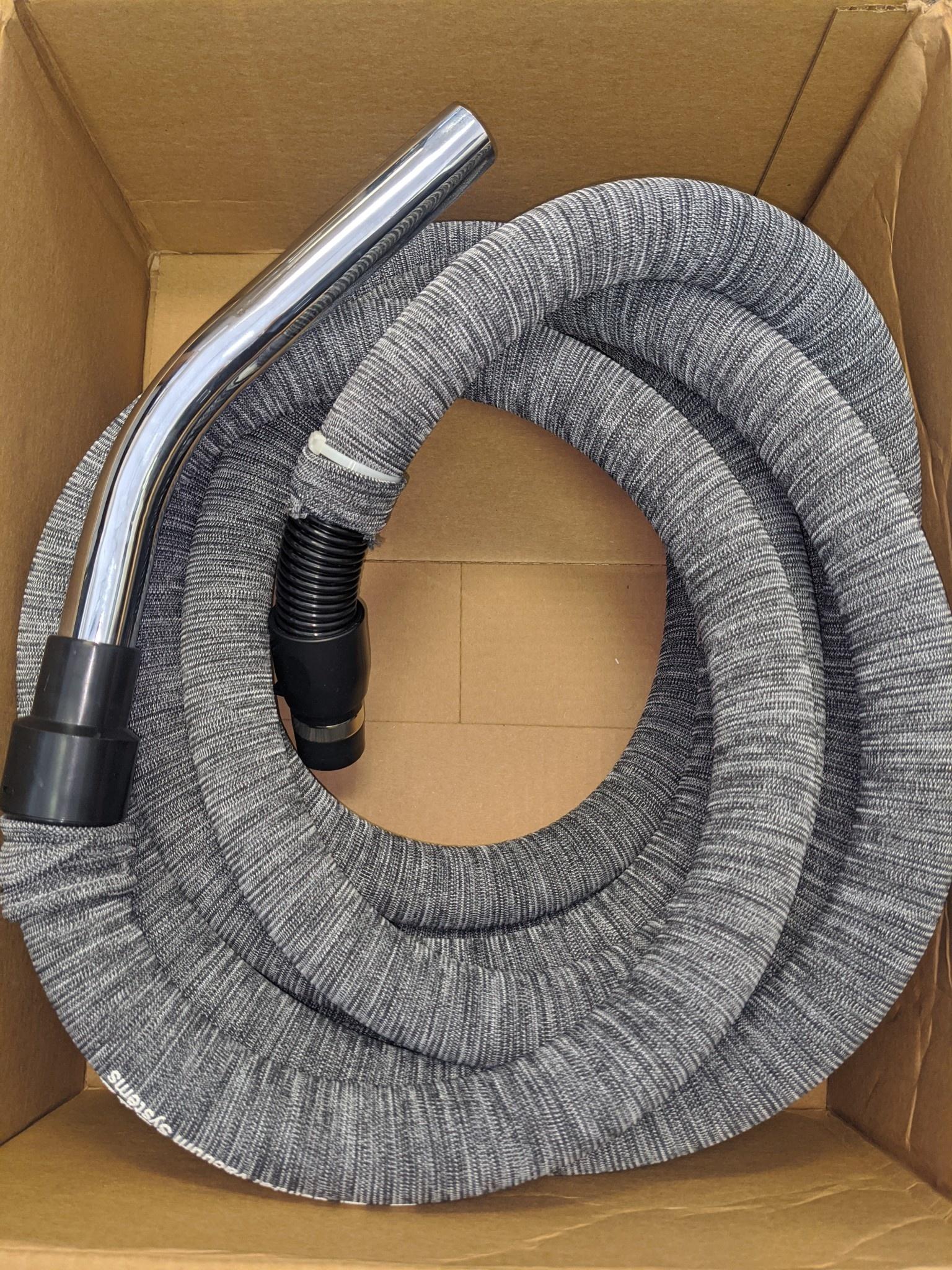 Swiss Boy Vacuum Refurbished Suction Only 30' Hose w/ Hose Sock