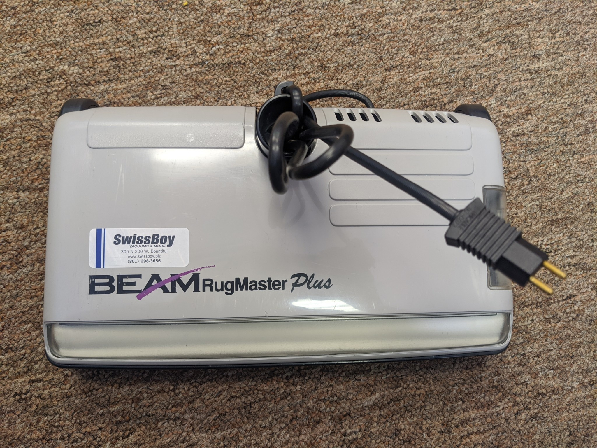 BEAM Refurbished Beam Rugmaster Plus - 3/3/20