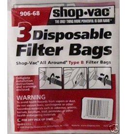 Shop Vac Generic All Around Shop Vac B Bags
