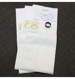 BEAM Beam Central Vacuum Paper Bag Kit w/Adapter 225/275/295/325/375 3Pk
