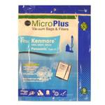 "GK GK Kenmore Style ""C"" Canister Paper Bag - 5055, 50557, & 50558 - 9pk"