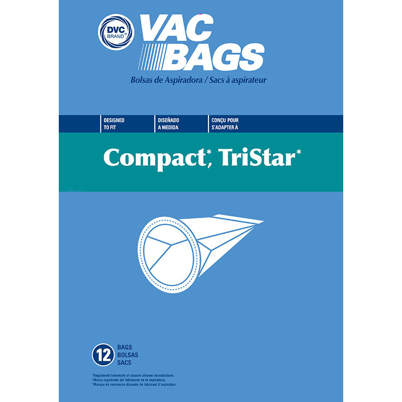 DVC DVC Compact TriStar and Miracle Mate Bags (12pk)