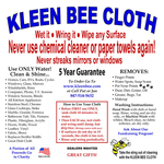 Kleen Bee Kleen Bee Cloth Super Shammy Microfiber