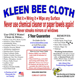 Kleen Bee Kleen Bee Cloth
