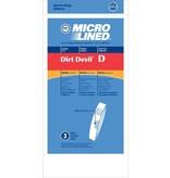 "DVC DVC Dirt Devil Style ""D"" Bags (3pk)"