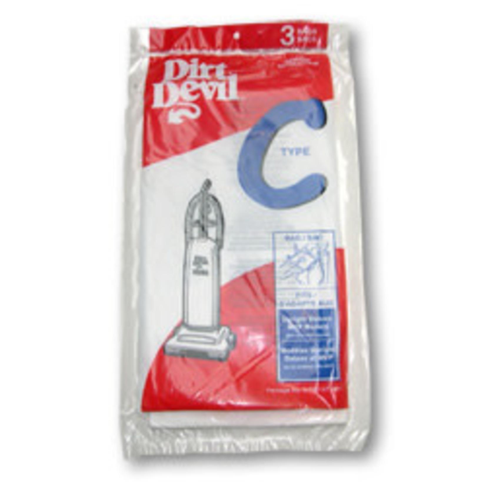 "TTI Dirt Devil Style ""C"" Bag (3pk)"