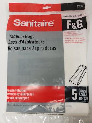 "Sanitaire Sanitaire Allergen ""F&G"" Bag (5pk)"