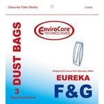 EnviroCare Envirocare Eureka/Sanitaire F&G Single Wall Bag - 3pk