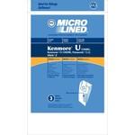 """DVC DVC Kenmore Style """"U"""", 50688 & 50690 Paper Bag (3pk)"""