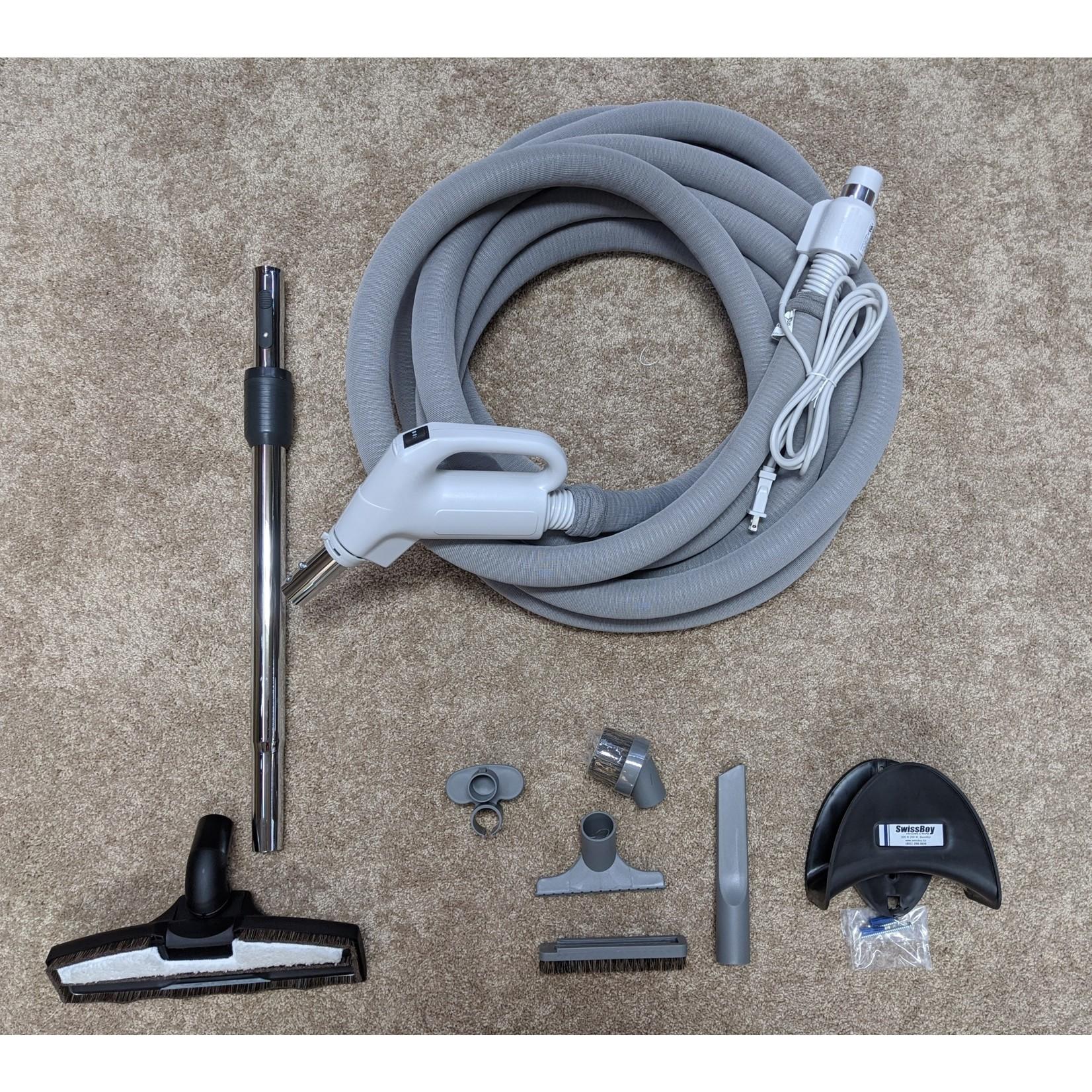 Swiss Boy Swiss Boy 30' Dual-Volt Hose w/Sock & Tool Set - Pigtail
