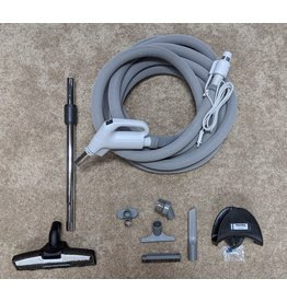 Swiss Boy Swiss Boy 30' Dual-Volt Hose w/Sock & Tool Set - Pigtail