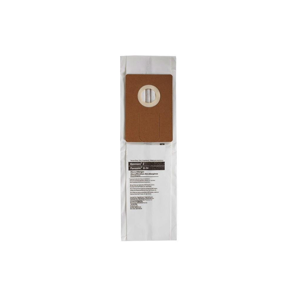 """DVC DVC Kenmore Style """"U"""", 50688 & 50690 Paper Bag - Single"""