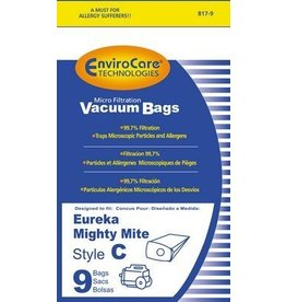 EnviroCare Envirocare Eureka C Bag - 9pk