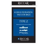 """Tacony Riccar Style """"Z"""" Paper Bag (6pk)"""