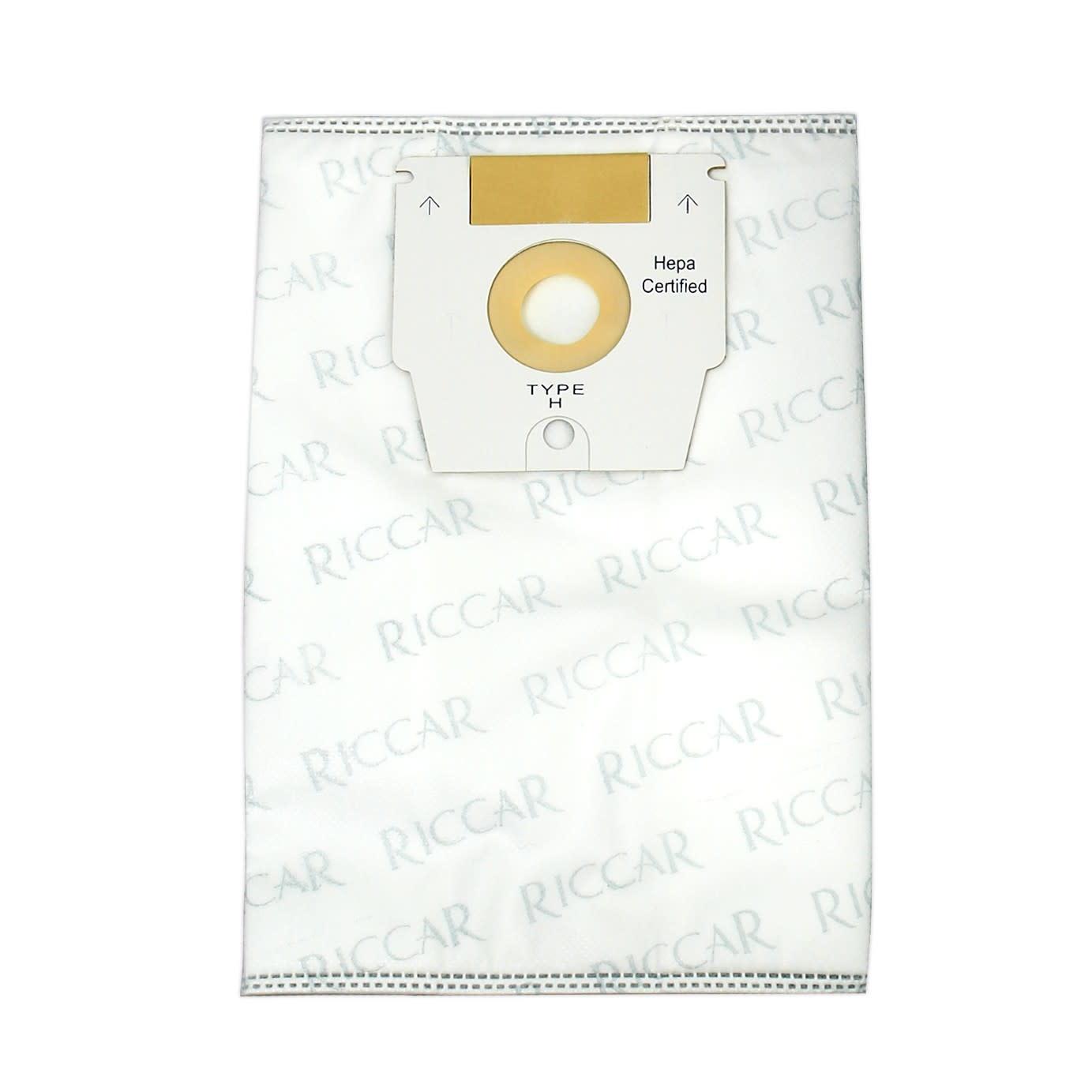 """Tacony Riccar Type """"H"""" HEPA Bag (6pk) RHH-6"""