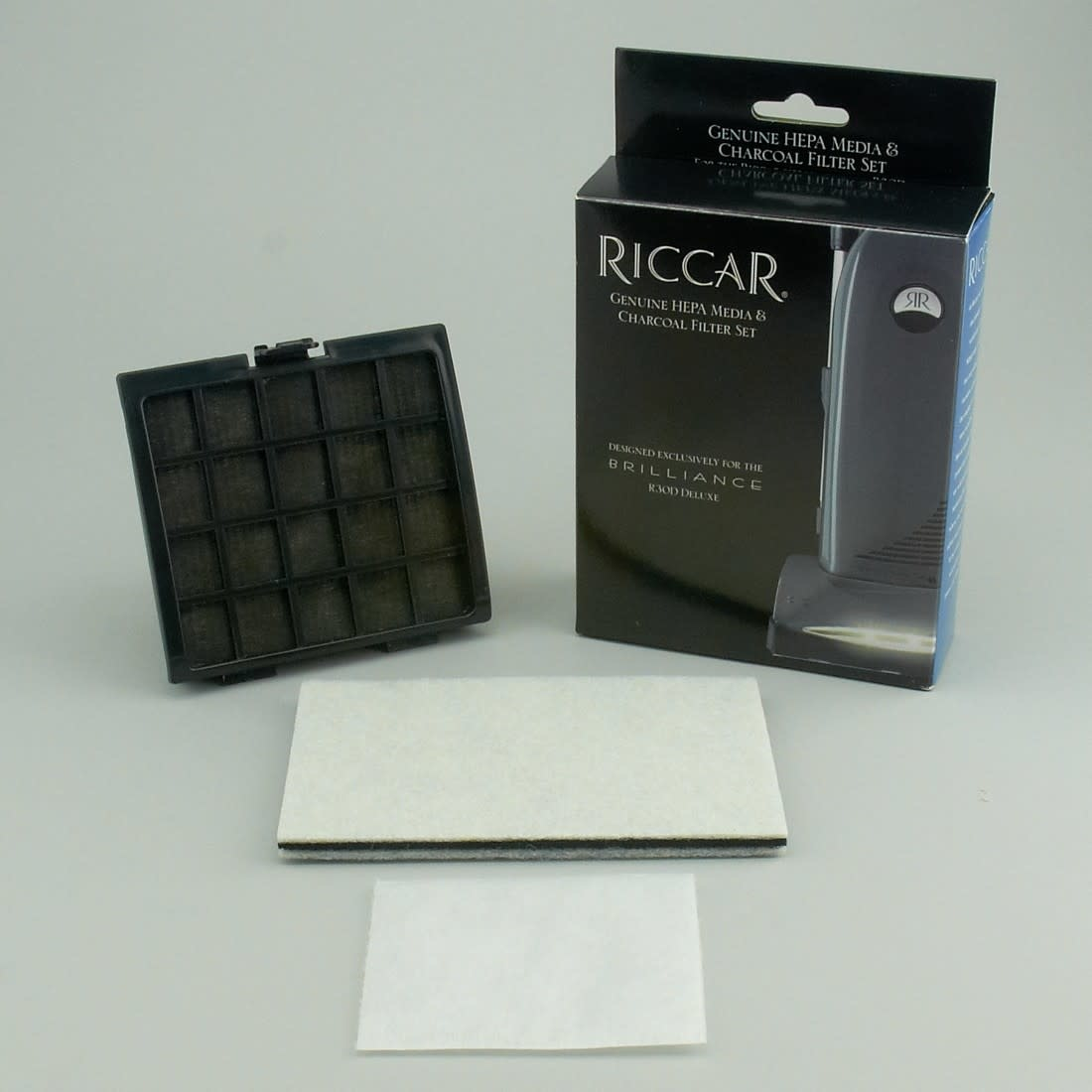 Riccar Riccar Filter Set For R30D Includes: HEPA FOAM/CHARCOAL/DIRECT AIR