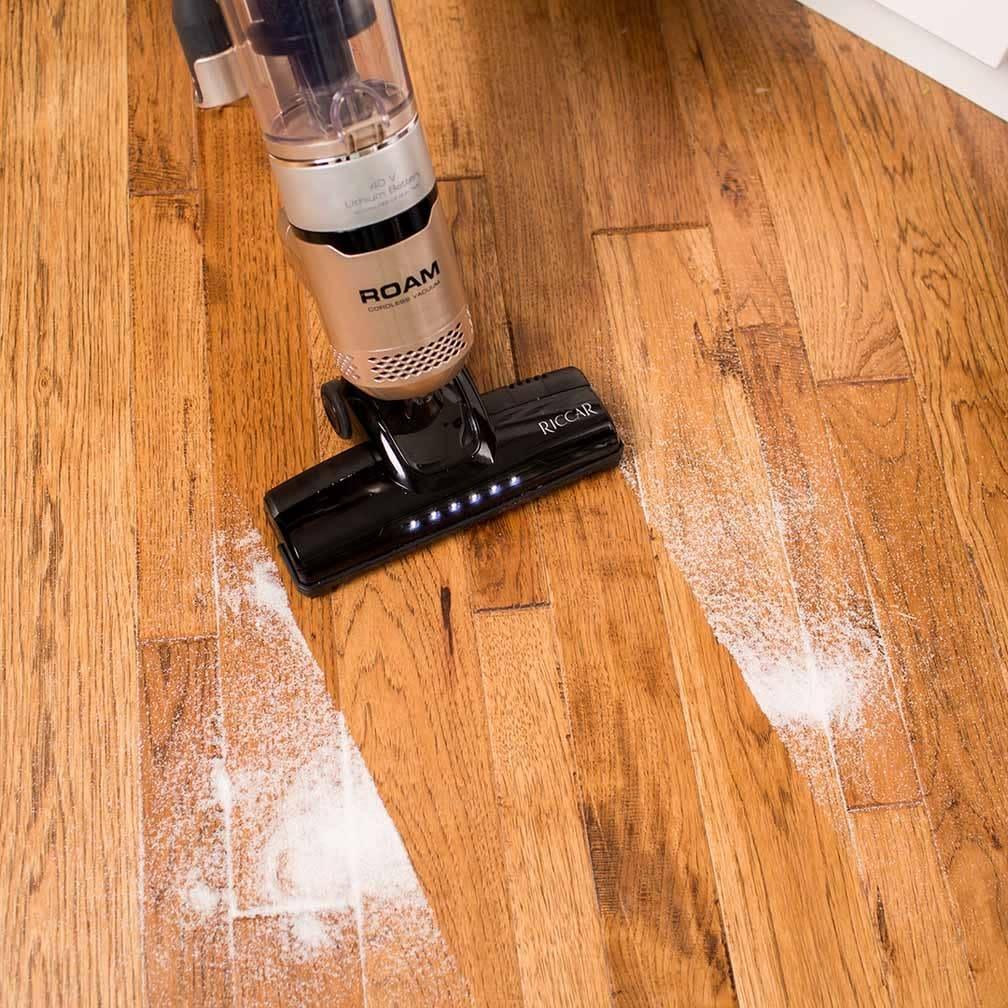Tacony Riccar Roam Cordless Broom Vacuum