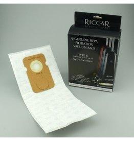 "Tacony Riccar Type ""B"" 8900 HEPA Bags"