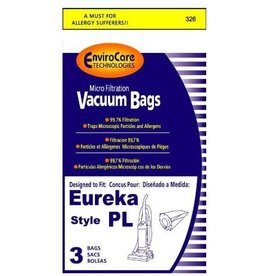 "EnviroCare Copy of DVC Style Eureka ""PL"" Bag (3pk)"