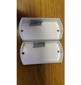 Central Vacuum Plaster Guard for Metal Stud Bracket 2pk w/screws