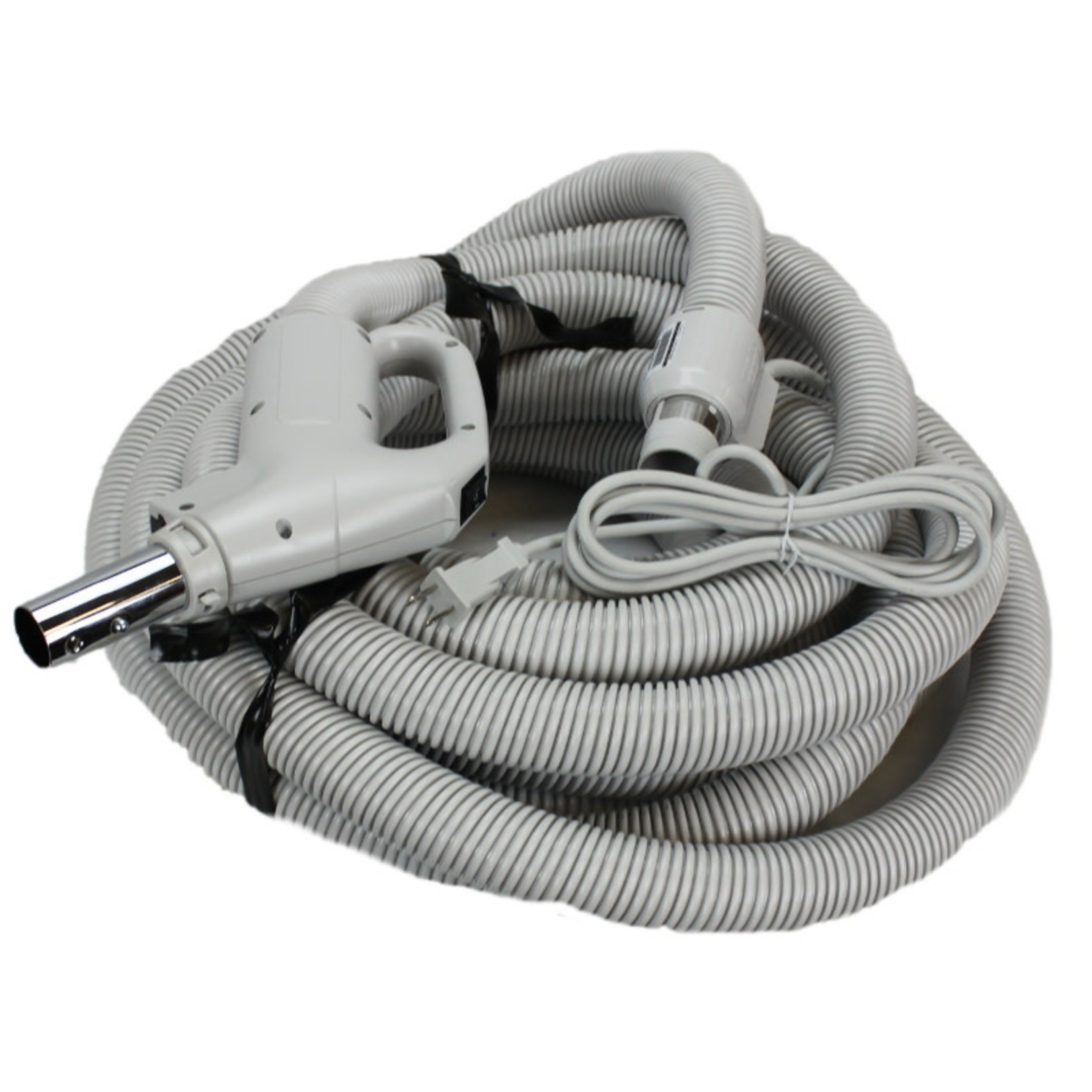 "Plastiflex Copy of Plastiflex Gray 30' x 1 1/4"" Dual Voltage Hose"