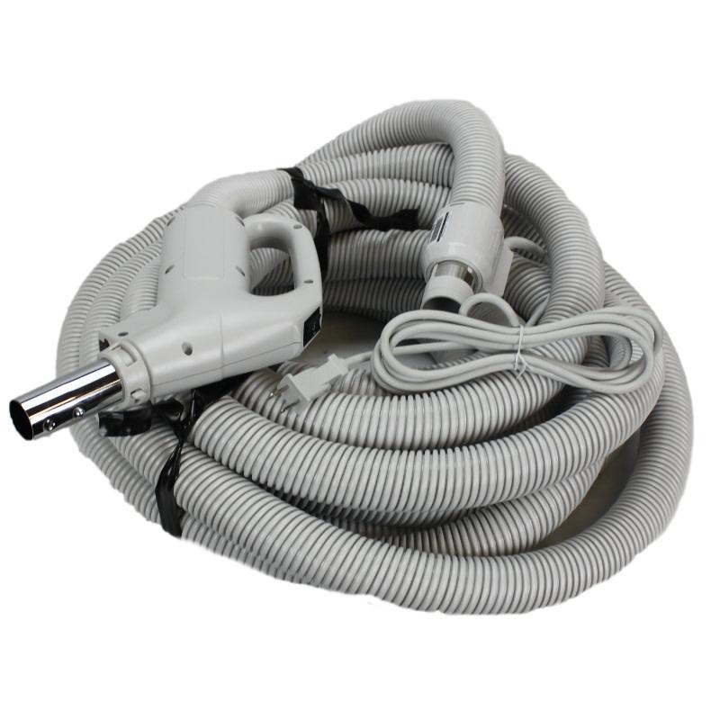 """Plastiflex Copy of Plastiflex Gray 30' x 1 1/4"""" Dual Voltage Hose"""
