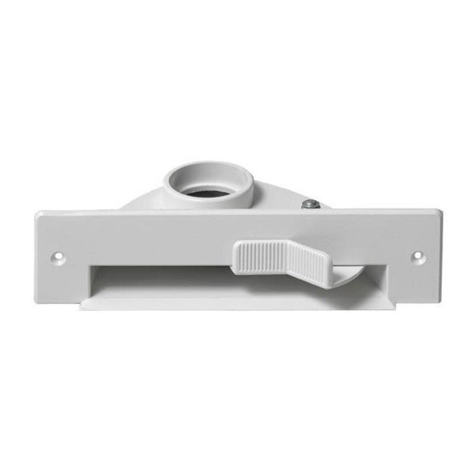 Plastiflex Central Vacuum VacPan Automatic Dustpan - White