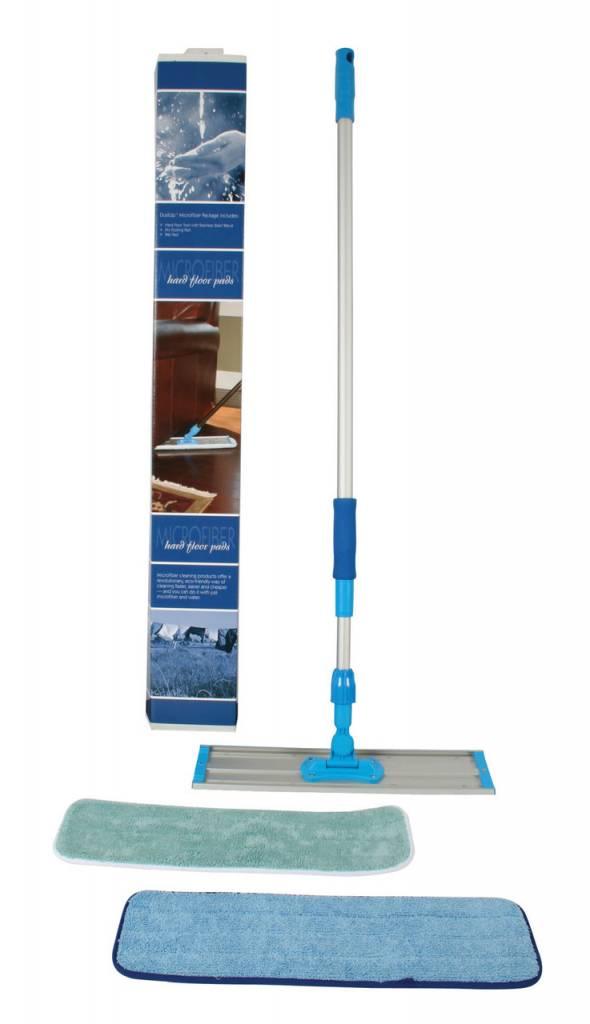 Centec DustUp Hard Floor Mop w/Stainless Steel Wands