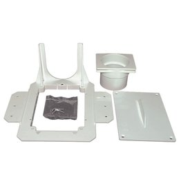 Hide A Hose Central Vacuum Hide-a-Hose Rough-In Stud Bracket - Small 5000 Series