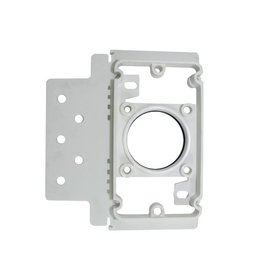 Plastiflex Central Vacuum Low Voltage Stud Bracket Fitting - Single