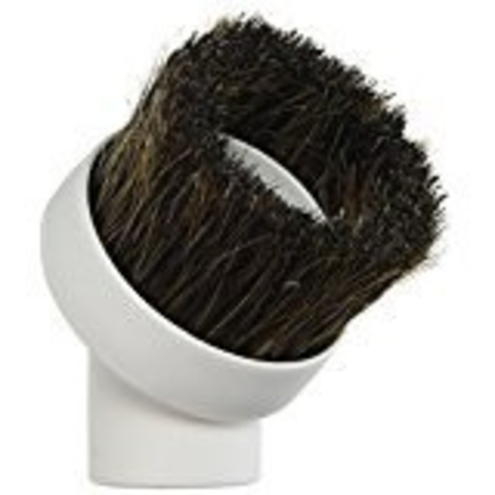 CVS Round Horse Hair Dusting Brush - White