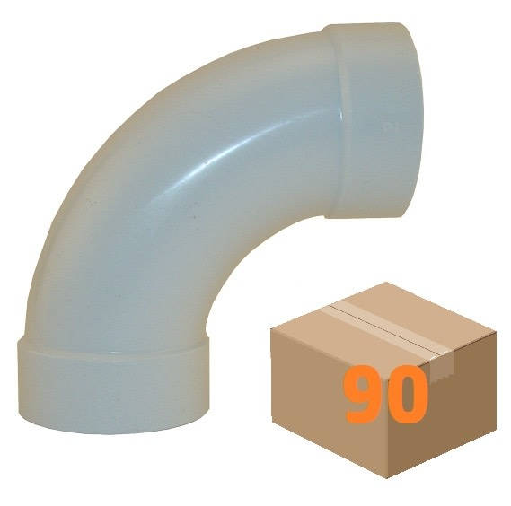 Canplas CVS Sweep 90 Fitting - (Box of 90pcs)