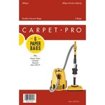 Carpet Pro Carpet Pro CP-1406 Paper Bag For CPCC1/FBCC1 - 6 Pk