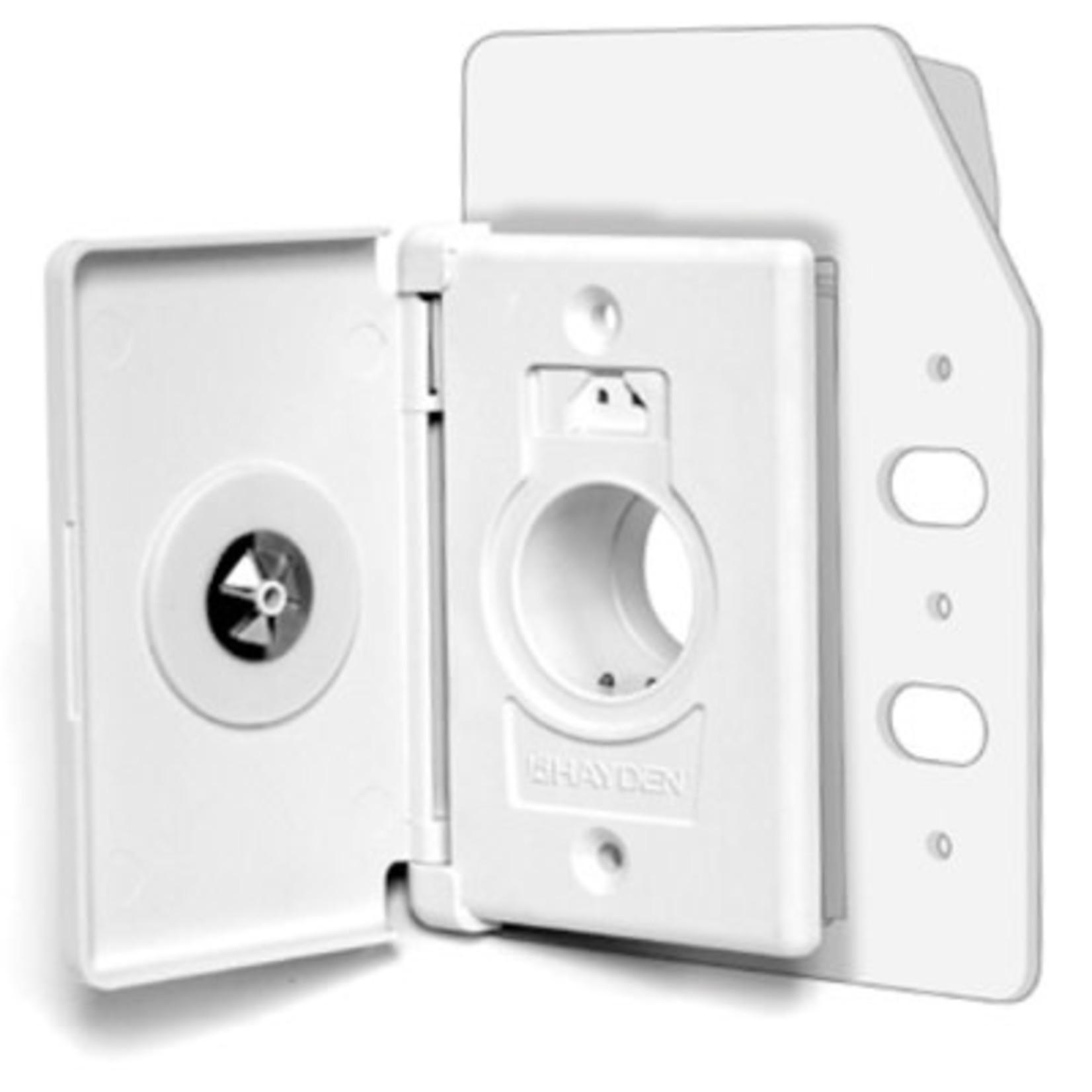 Vaculine Copy of Hayden Dual Volt Side Door SuperValve - White