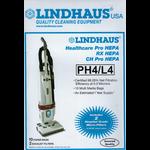 """Lindhaus Lindhaus Style """"PH4"""" Paper Bag (10pk & 2 Filter)"""