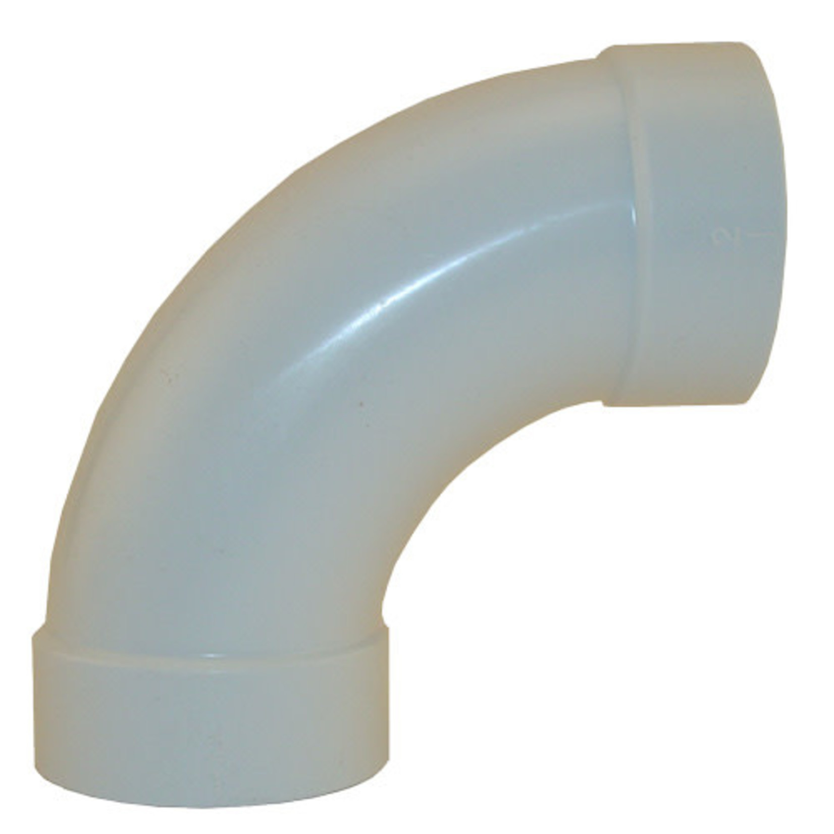 Vaculine Central Vacuum Sweep 90 Elbow Fitting - Single