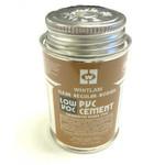 Whitlam Whitlam 4oz (1/4 Pint) of Clear Regular PVC Cement - Glue