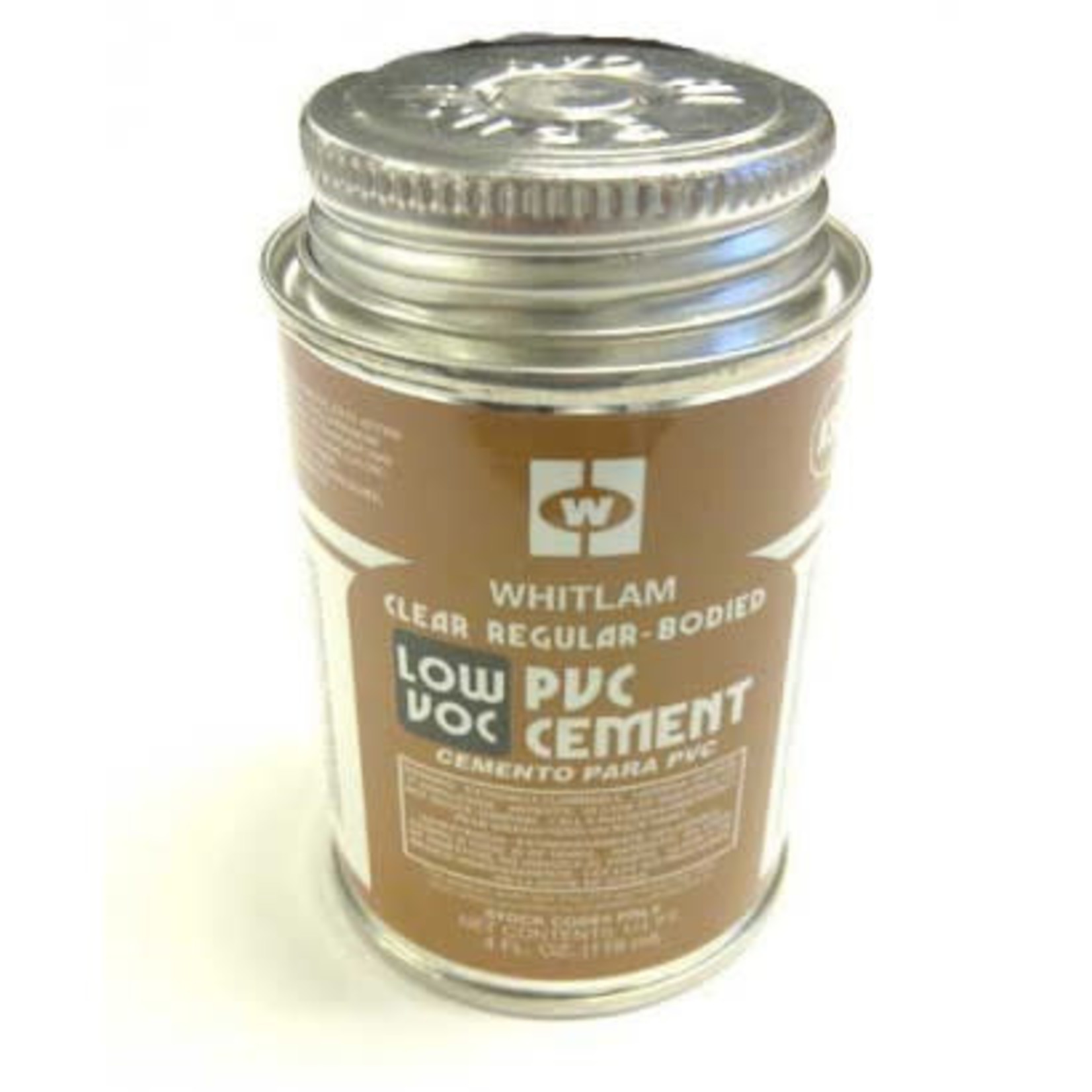 Whitlam Central Vacuum Whitlam 8oz (1/2 Pint) of Clear Regular PVC Cement - Glue