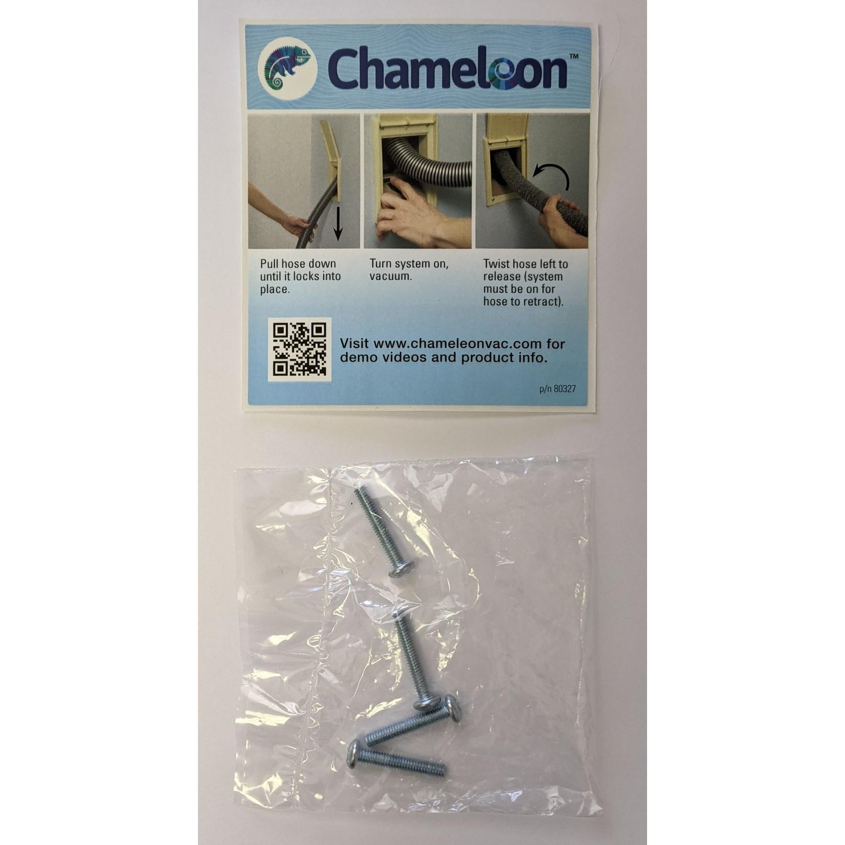 Chameleon Chameleon Valve Trim Kit - White