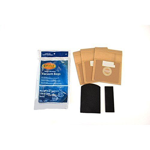 Bissell Bissell Zing 7100 Series Bag (3pk) + Filter Set **NO LONGER AVAILABLE**