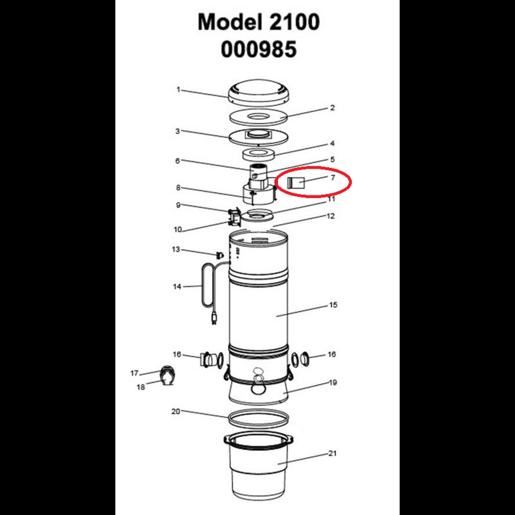 "BEAM BEAM 3.5"" Metal Exhaust Extension"