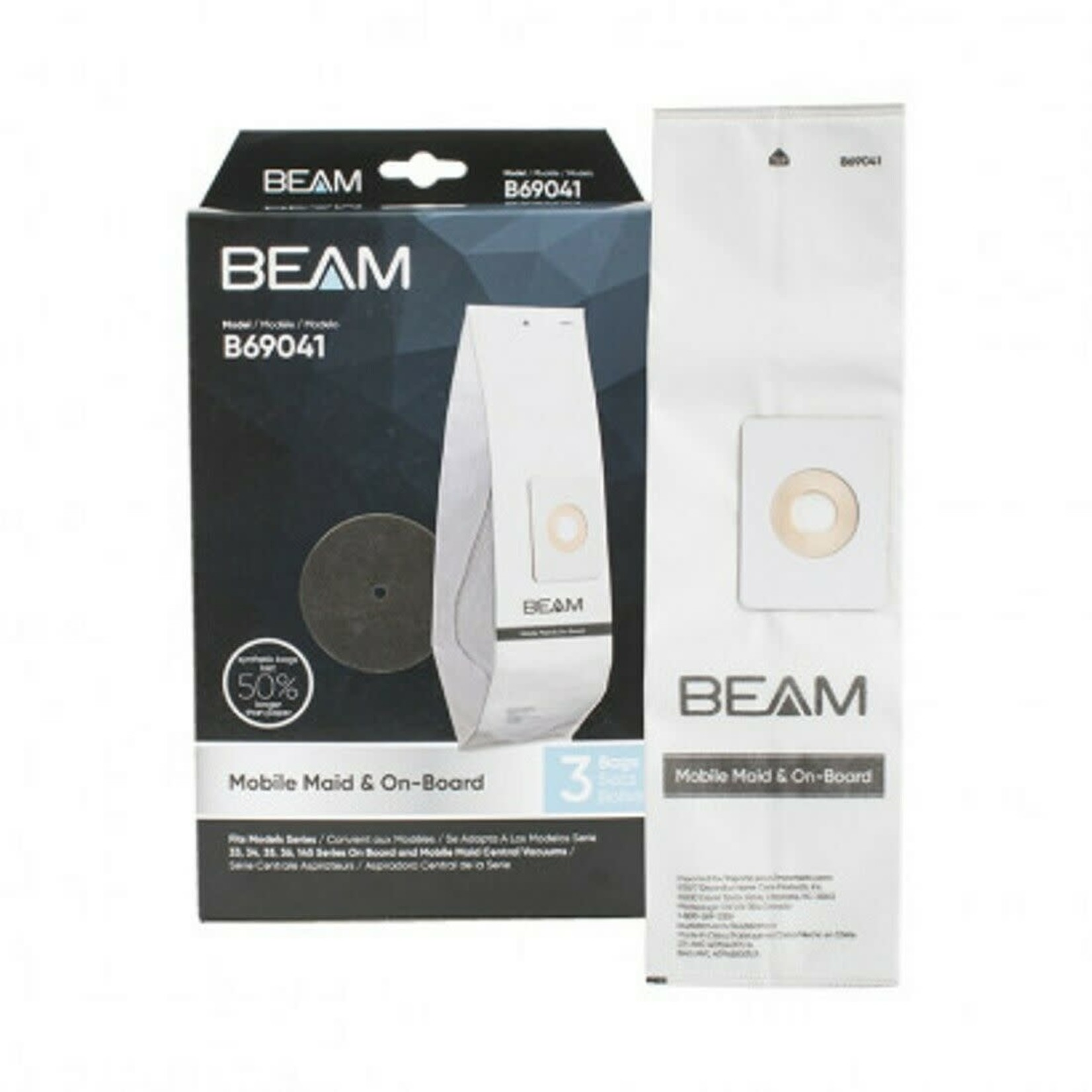 BEAM Beam Filter Bags for Mobile Maid and On-Board
