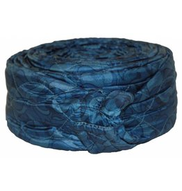BEAM Central Vacuum 30' Quilted Zipper Hose Sock - Blue