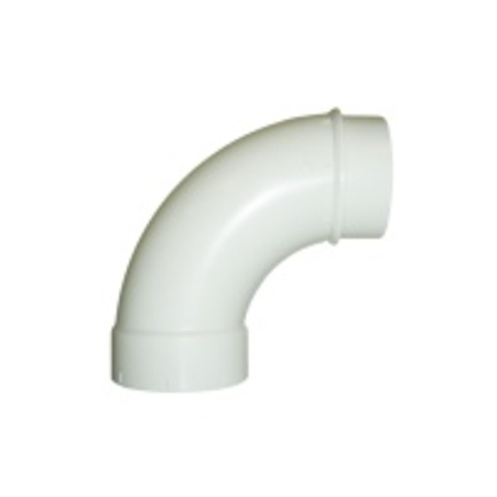 Plastiflex CVS M/F Sweep 90 Fitting - Single