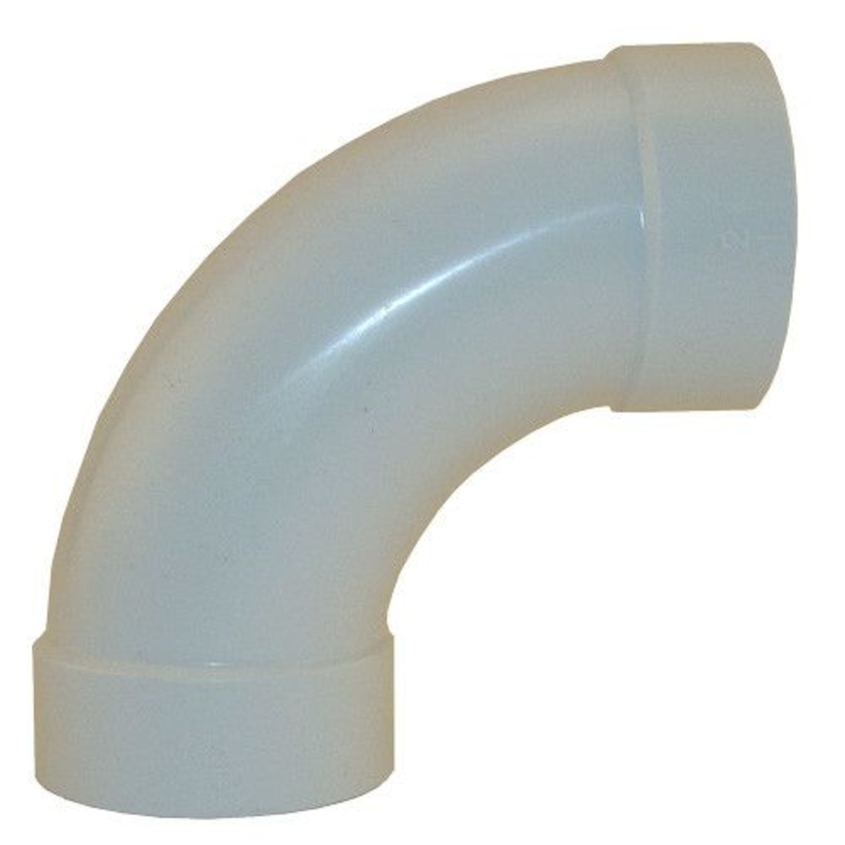 Plastiflex Central Vacuum Sweep 90 Fitting - (Box of 115pcs)