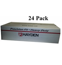 Hayden Vaculine Round Door Valve (Low Volt) - Smooth White - Box of 24