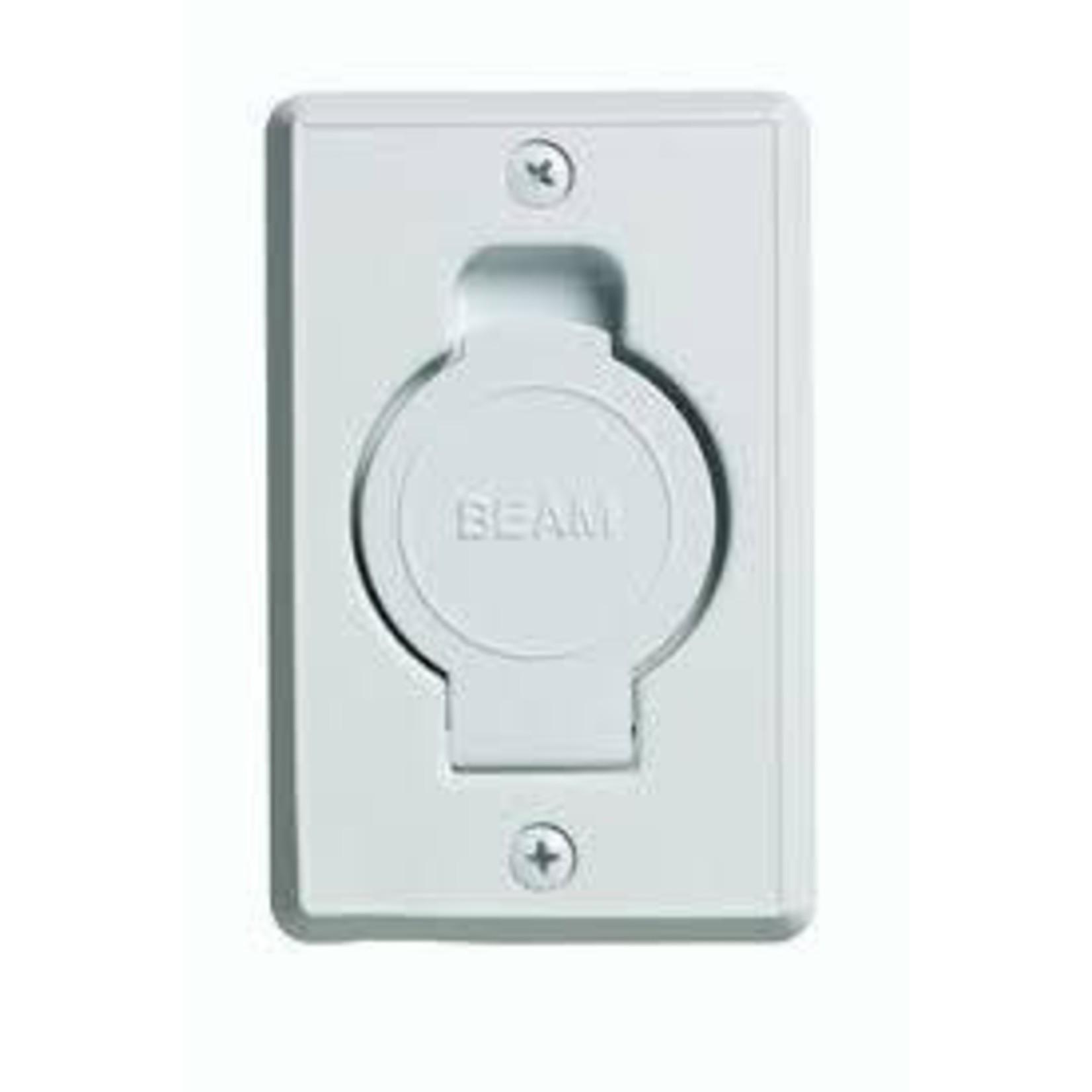 Plastiflex Beam Round Door Valve (Low Volt) - White (24pk)