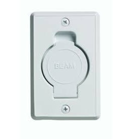 Plastiflex Beam Round Door Valve (Low Volt) - White (24pk)