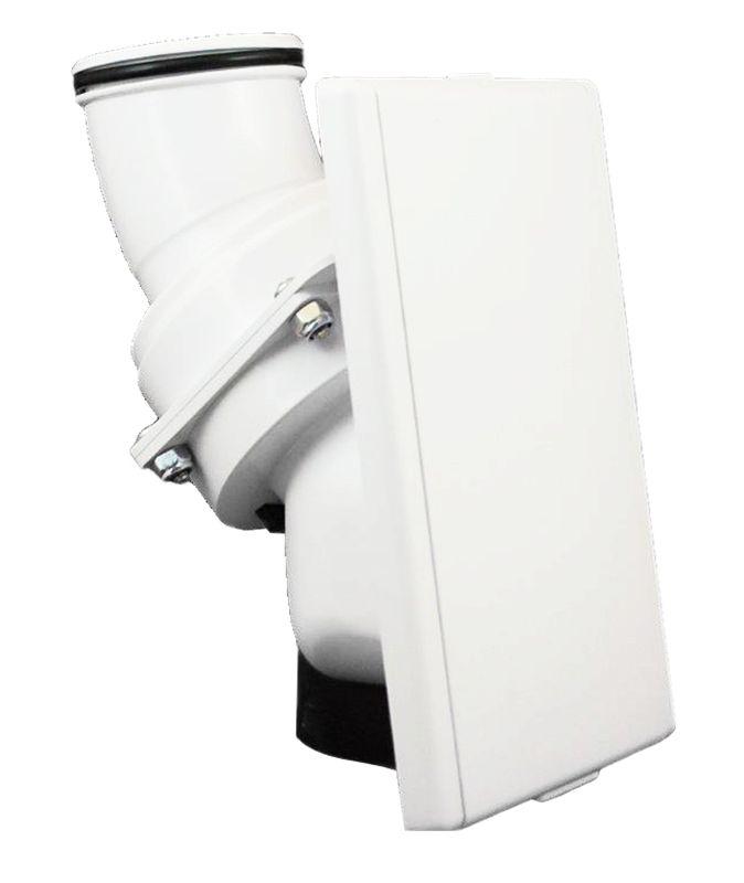 Hide A Hose Hide A Hose Valve Trim Kit - White - Small 5000 Series
